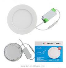 18w Round led panel light for bathroom kitchen light modern Acrylic ceiling light fittings