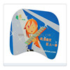 cartoon girl buttocks hand rest breast mouse pad
