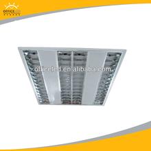 eh414b de iluminación fluorescente iddirect luminaria lámparas rejilla 600mm