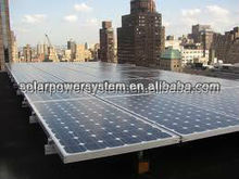 6000W Solar panel system for roof mounting
