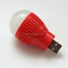 Portable Computer Laptop PC Desk Reading Lamp Mini USB Light Bulb