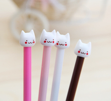 Factory Cat Promotion Gel Pen For Gifts