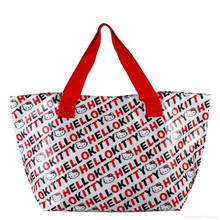 600D pvc Poplyester Shopping Bag Guangzhou Tote Bag Manufacturer