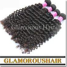 Wholesale virgin indian hair, 100% unprocessed natural virgin indian deep curly hair