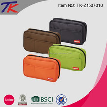 NEW Zippered Pencil Pouch Set Stationery Bag with Large Capacity