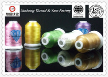 colored wholesale glow in the dark rayon embridery sewing thread