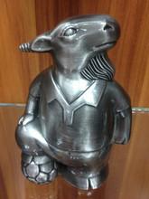 OEM resin coin box goat