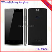 2015 Best Long Time 5000mAh Battery Mobile Phone THL 5000T Octa Core 8GB ROM 5.0MP+13.0MP Dual Cameras Phone