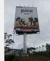 Top grade hot sale street large outdoor billboard bracket