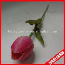 single stem artificial PU tulip flower