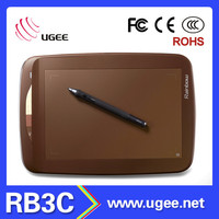 9x6 inch 2048 levels Ugee RB3C graphics writing pen tablet