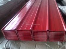 corrugated galvanized steel profile roofing