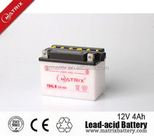 lead aicd dry charged motorcycle battery