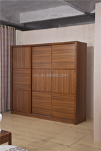 customized wardrobe solid wood furniture bedroom furniture three doors wardrobe solid wood wardrobe