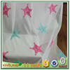 polyester dyed,modern popular embroidered curtain fabric