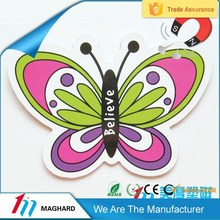 hot sale colorful butterfly refrigerator/fridge magnet