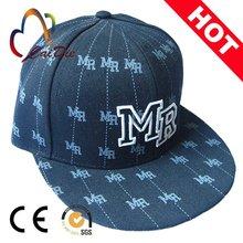 fashional 5 panel snapback hats/custom-made 5 panel hats/cotton men 5 panel hat