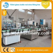 Hot sale 2000bph auto linear type Brandy/Rum/Gin filling machine in China