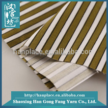 China textile Men shirt use wholesale T/C Print Stripe fashion fabric for office wear