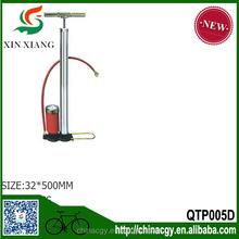 Wholesale bike parts tire valve pumps/cheap metal bicycle pumps