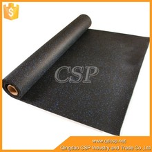 Wear-resisting roll rubber flooring for gyms and basketball courts