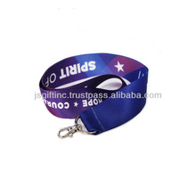 heat-transfer ID lanyard from SEDEX factory