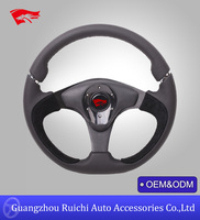 New Novelty Performance Auto Leather 13 inch Steering Wheel (RC-5150)