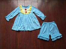 2015 New Arrival wholesale factory price Boutique importedbaby boutique clothing boutique child dress clothing