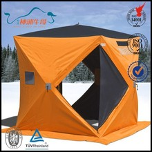 Color can be choosen with Wind-break Ropes and Nails ICE FINSHING TENT
