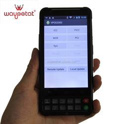 waypotat 3g smart phone with iso 7816 smart card reader vpos3392