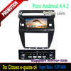 8 inch Android 4.4 In Dash Car DVD Player GPS Navigation system for Citroen e-quatre/C4 2012