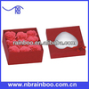 Hot selling rose flower soap with heart shape gift box for promotion