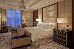 Modern headboard hotel bedroom furniture, hotel bedroom furniture set HDBR698