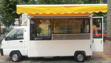 autobus de alimento rápido para venta en china