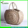 LUDA Natural Straw Shopping Bag Sea Grass Beach Basket
