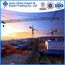 60m jib specifications QTZ100(FP6010) construction tower crane by JINKUI in China