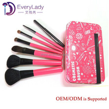 100% Brand New and handcrafted 7 pcs makeup brush tools