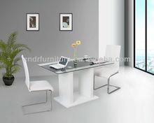 Dinging Room Furniture glass top funiture set