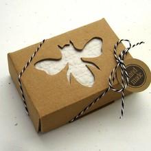 Pretty Shenzhen Handmade kraft soap boxes