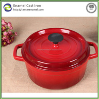 pots and pans country enamelware grill plate cast iron cookware factory cookware sets iron pot set red colour
