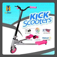 JOYBOLD Best Selling Three Wheel Swing Scooter, Easy Folding Swing Trike Scooter for Children