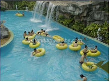 Happy lazy river for water park, artificial river for aqua park