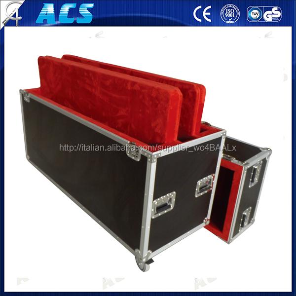 ACS schermo al plasma illuminazione del display a led caso/volo casi
