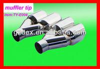 auto muffler exhaust assembly
