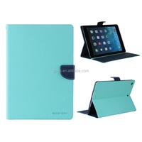 Mercury Goospery Leather Fancy Diary Wallet Flip Case For iPad Air 5
