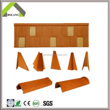 2016 Hot Product Corrugated Sheet Metal Roofing/Cheap Shingle Type Stone Coated Roofing /colorful stone coated metal roof tile