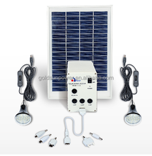 High Cost Effective CE RoHS Solar Home Lighting System