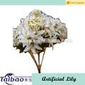 alta qualidade artificial lírio branco da flor