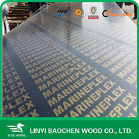 termites resistant plywood , Recycle used/ finger joint core black film faced plywood /Linyi factory lowest laminated board