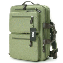 Men 3 Way Bag Laptop College Tote Bag Fashion Backpack